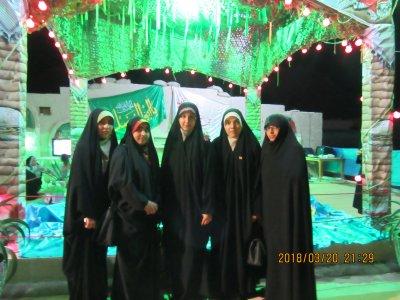حضور طلاب مدرسه علمیه الزهرا (س) در اردوی راهیان نور و بازدید از مناطق جنگی